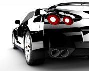 Snelle auto als bewijs van snel geld verdienen